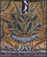 Mosaïque de San Clemente - Les cerfs