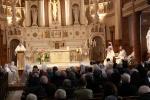 Introduction de Mgr Parent à l'eucharistie du samedi - © FMJ