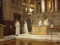 Procession de l'évangéliaire