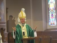 Bénédiction par Mgr Christian Lépine