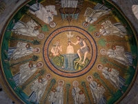 Coupole du baptistère des Ariens à Ravenne (2)