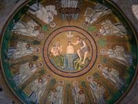 Coupole du baptistère des Ariens à Ravenne